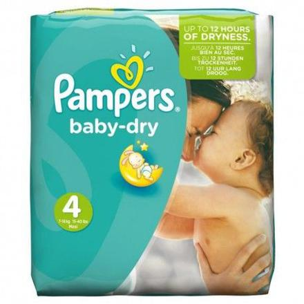 pampers taille 4 baby dry