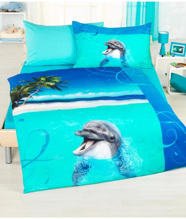parure de lit dauphin