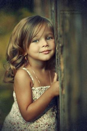 petite fille mignonne