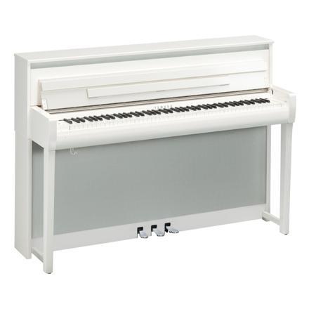 piano numerique blanc