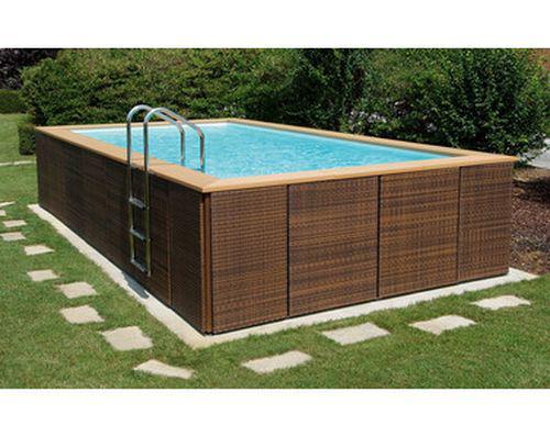 piscine italienne hors sol