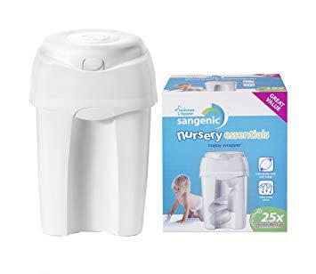 poubelle à couches sangenic tommee tippee