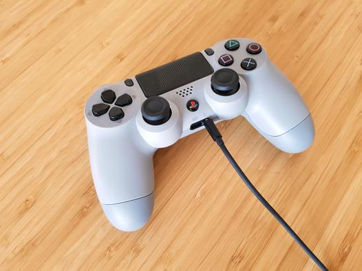 ps4 son casque manette