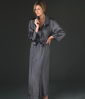 robe de chambre soie