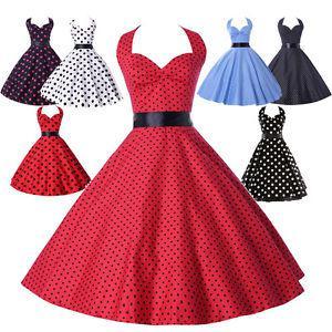 robe vintage année 50 grande taille