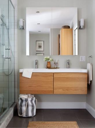 salle de bain moderne ikea