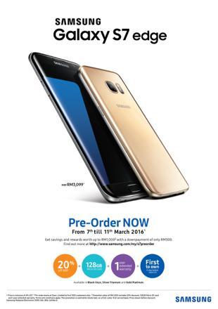 samsung galaxy s7 edge promotion