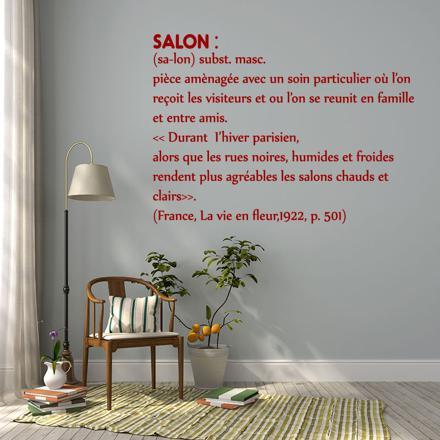 stickers citation salon