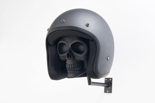 support pour casque moto