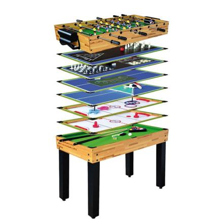 table multi jeux baby foot