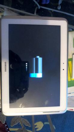 tablette samsung ne charge plus