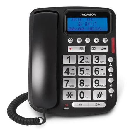 telephone fixe avec repondeur