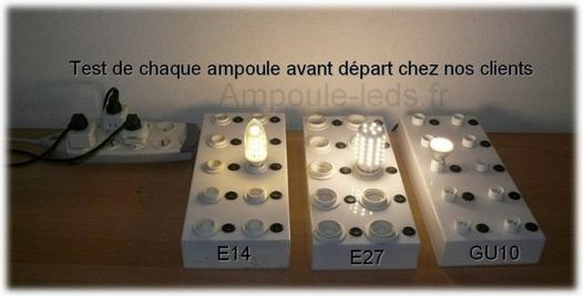 test ampoule led