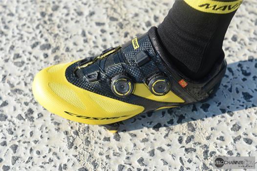 test chaussure