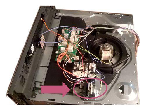 thermostat de sécurité four