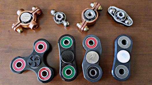 video hand spinner