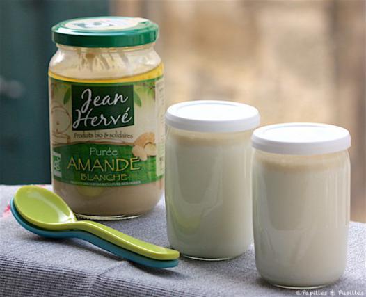 yaourt lait amande