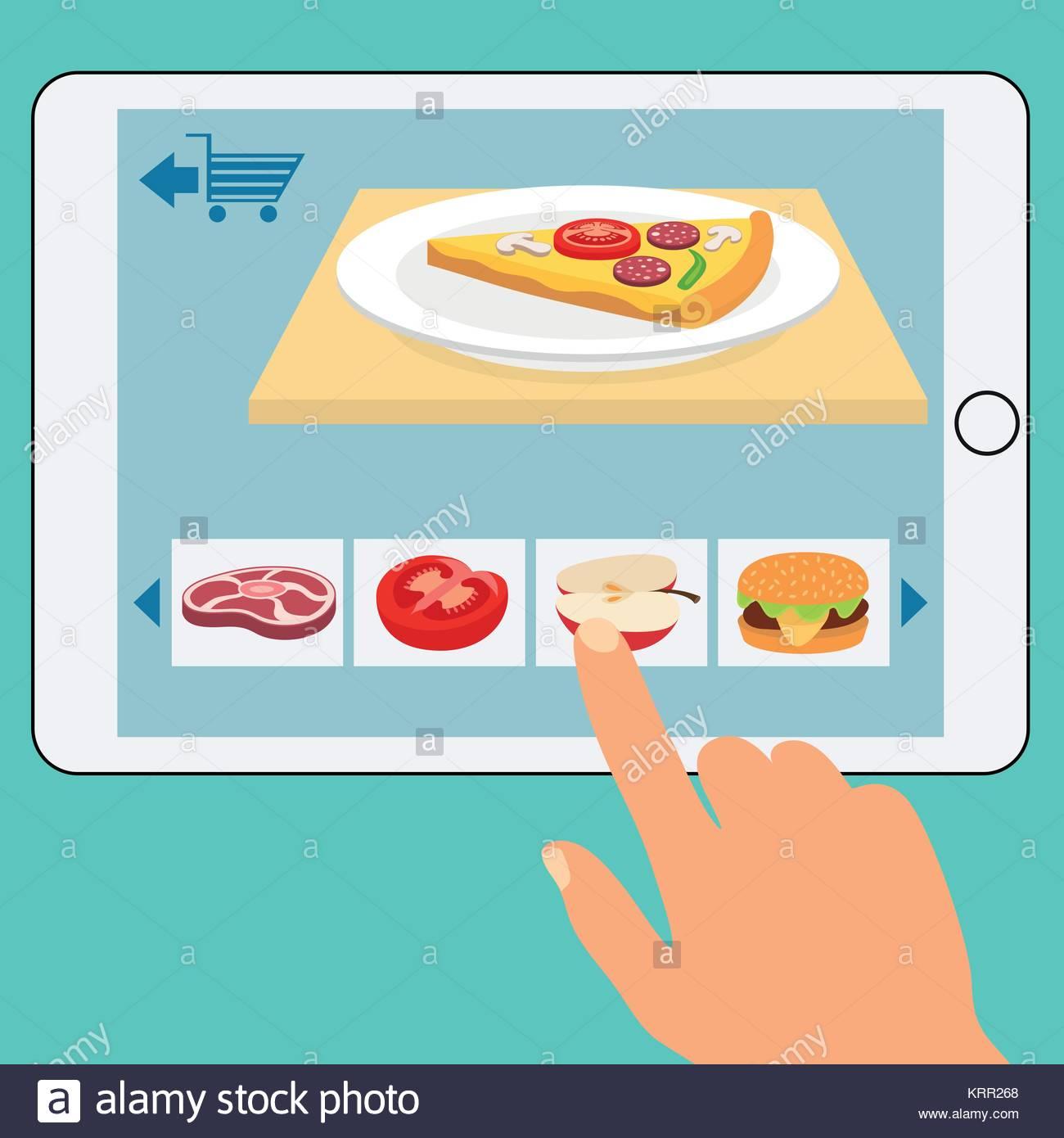 achat nourriture en ligne
