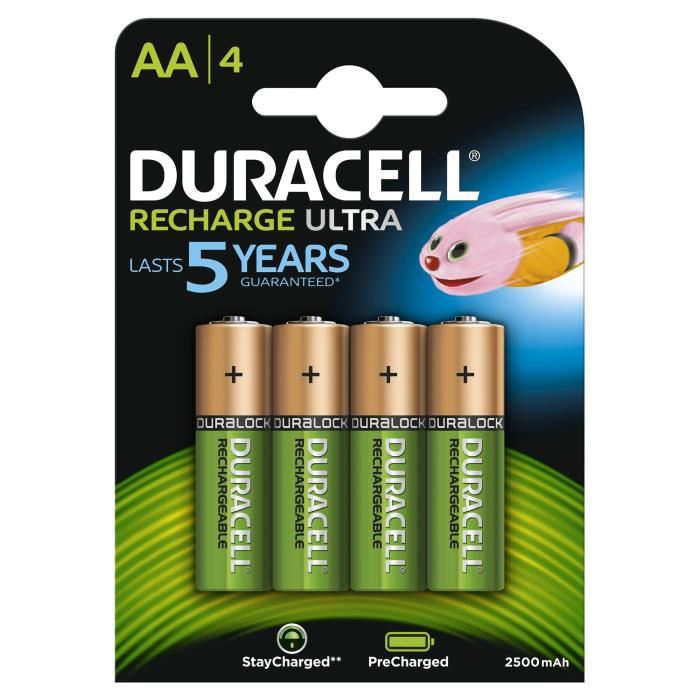 achat piles rechargeables