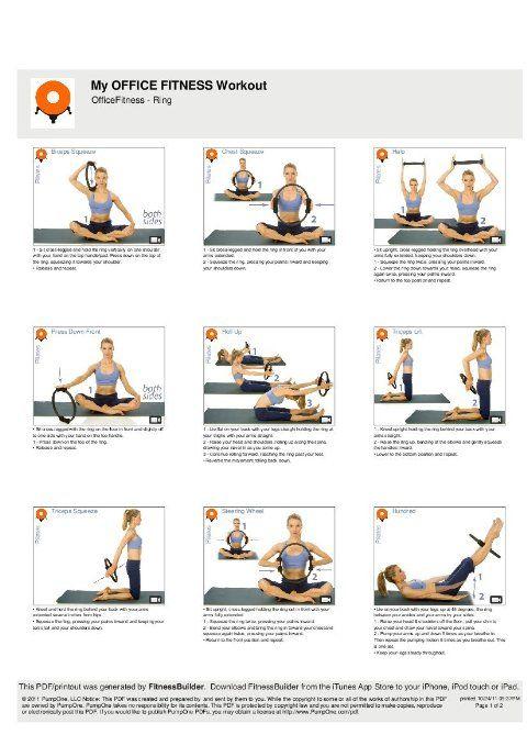 anneau pilates exercices