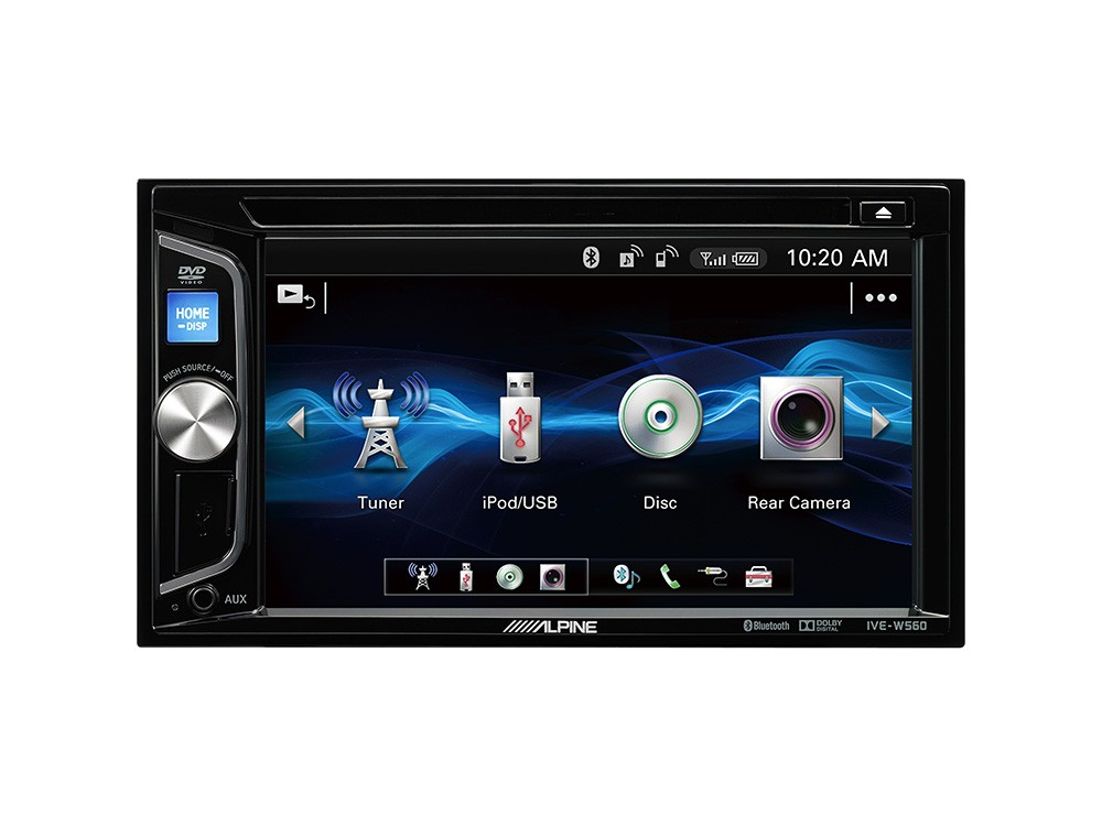 autoradio double din alpine