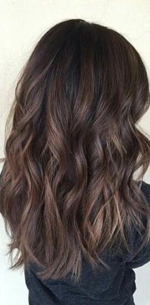 balayage pour cheveux noir