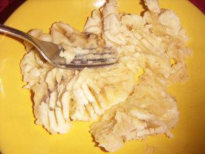 banane écrasée