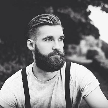 barbe hipster chic