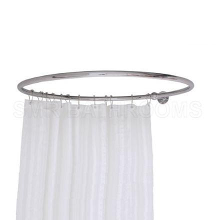 barre rideau de douche circulaire