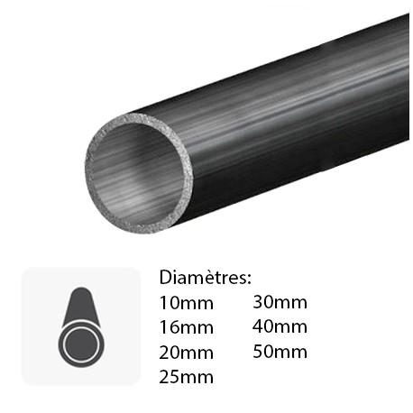 barre tube acier