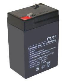 batterie 6v 4.5 ah rechargeable