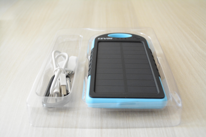 batterie externe solaire test