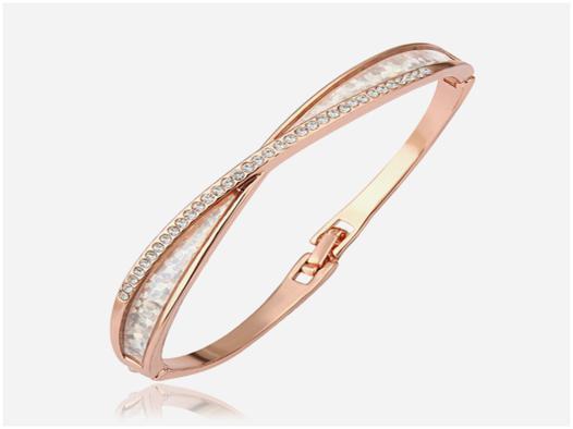 bracelet or rose pas cher