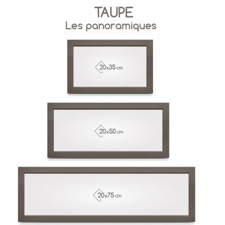 cadre photo taupe