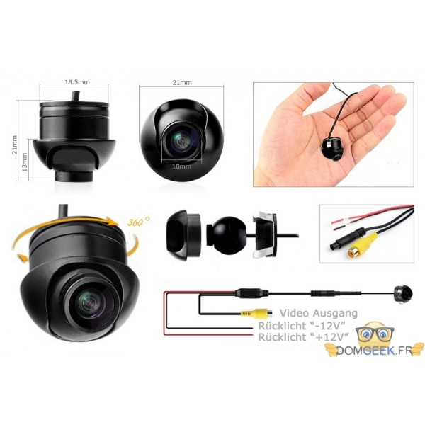camera recul bluetooth