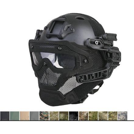 casque integral airsoft