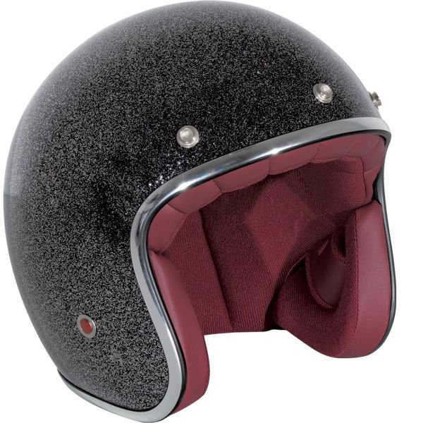 casque jet paillette