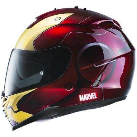 casque moto rouge