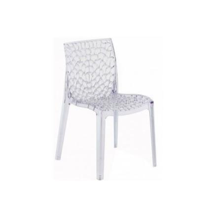 chaise plastique transparent pas cher