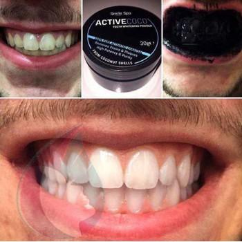 charbon activé dent