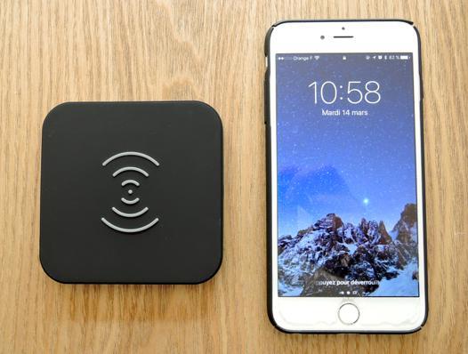chargeur iphone 7 sans fil