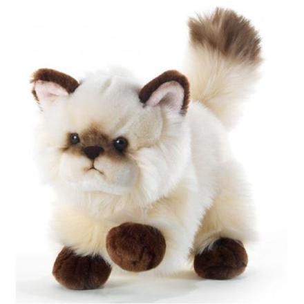 chat peluche qui miaule