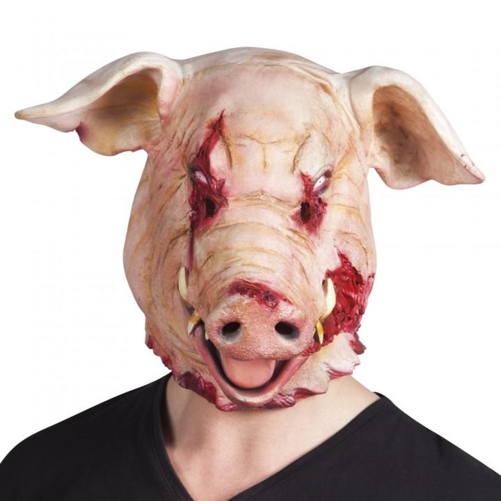 cochon halloween