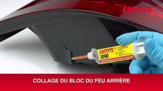 colle pour plastique voiture