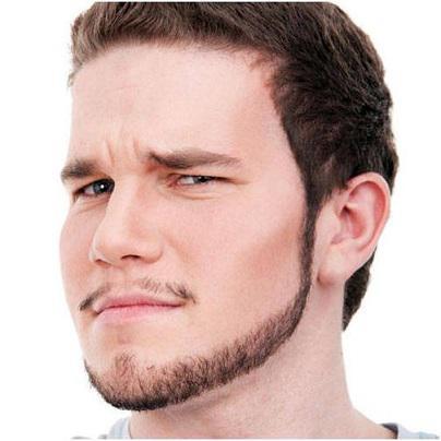 collier de barbe tendance