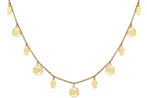 collier or 9 carats