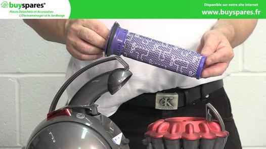 comment nettoyer un aspirateur dyson
