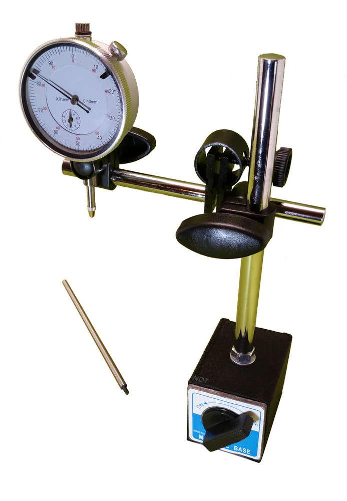 comparateur mecanique avec support