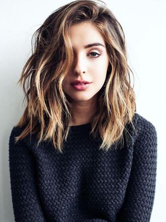 coupe cheveux mi long ondulé