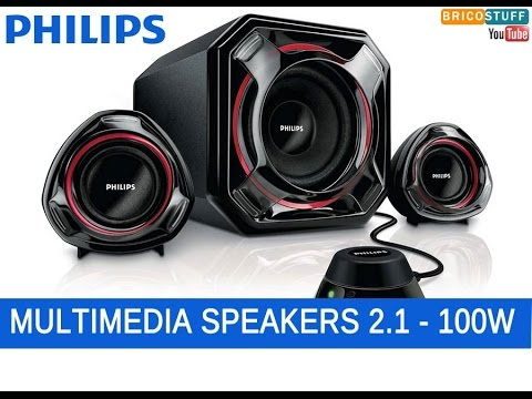enceinte philips 2.1